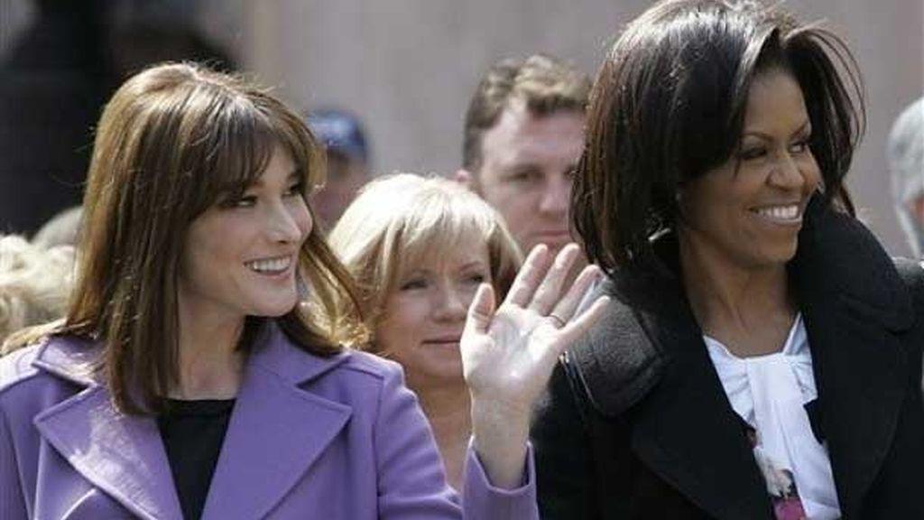 Las primeras damas en Estrasburgo