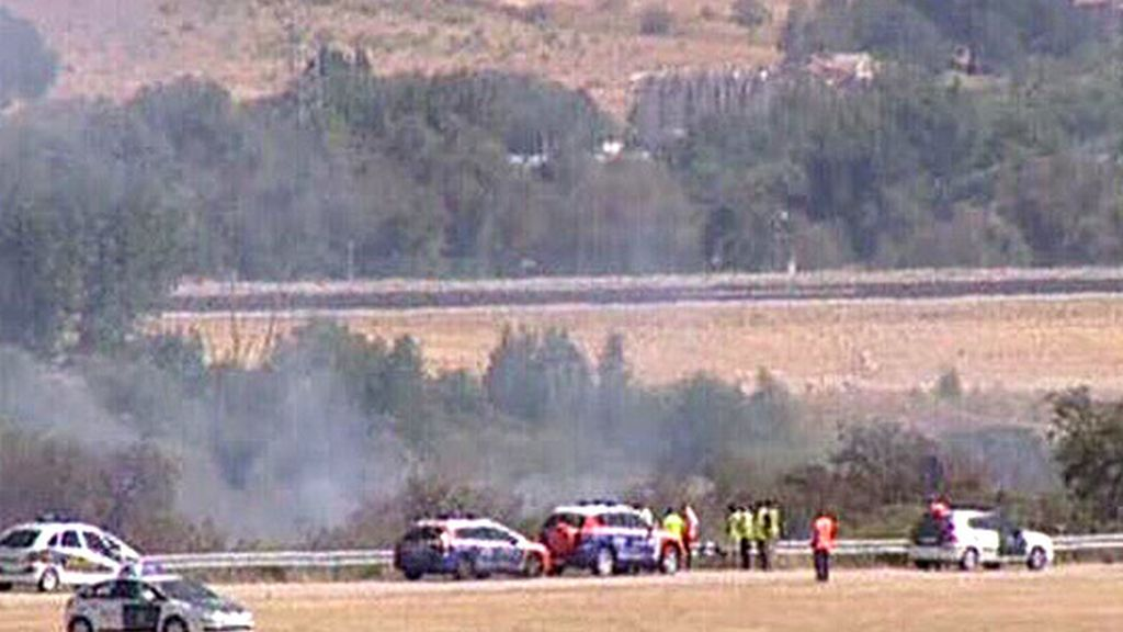 Grave accidente en Barajas