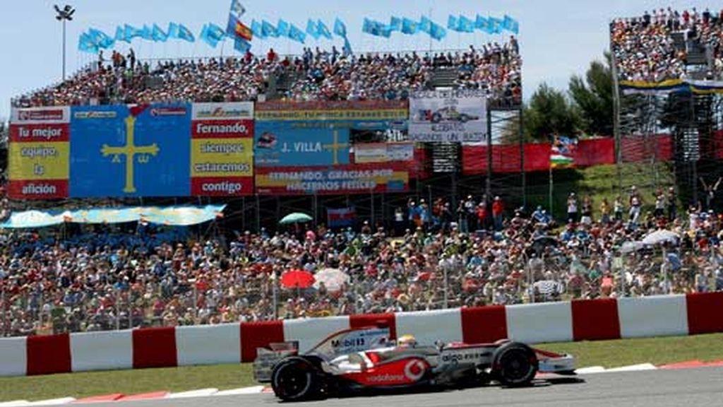 En el GP de España 2008