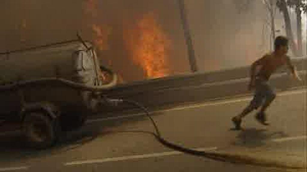 Portugal sigue quemándose