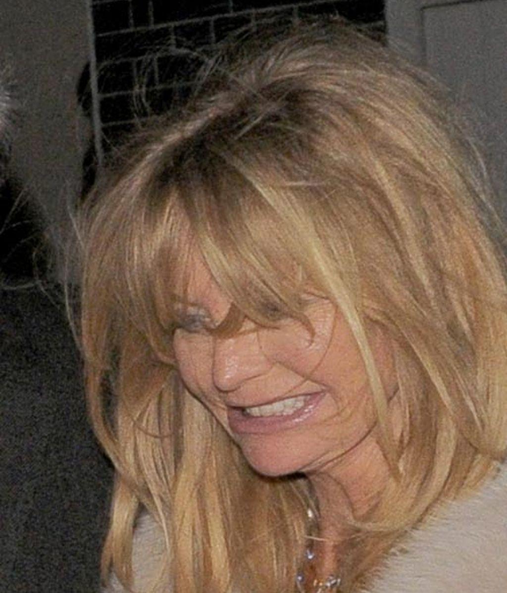 Goldie Hawn: Esta noche hay una... cena benéfica, vayamos todos a la cena benéfica