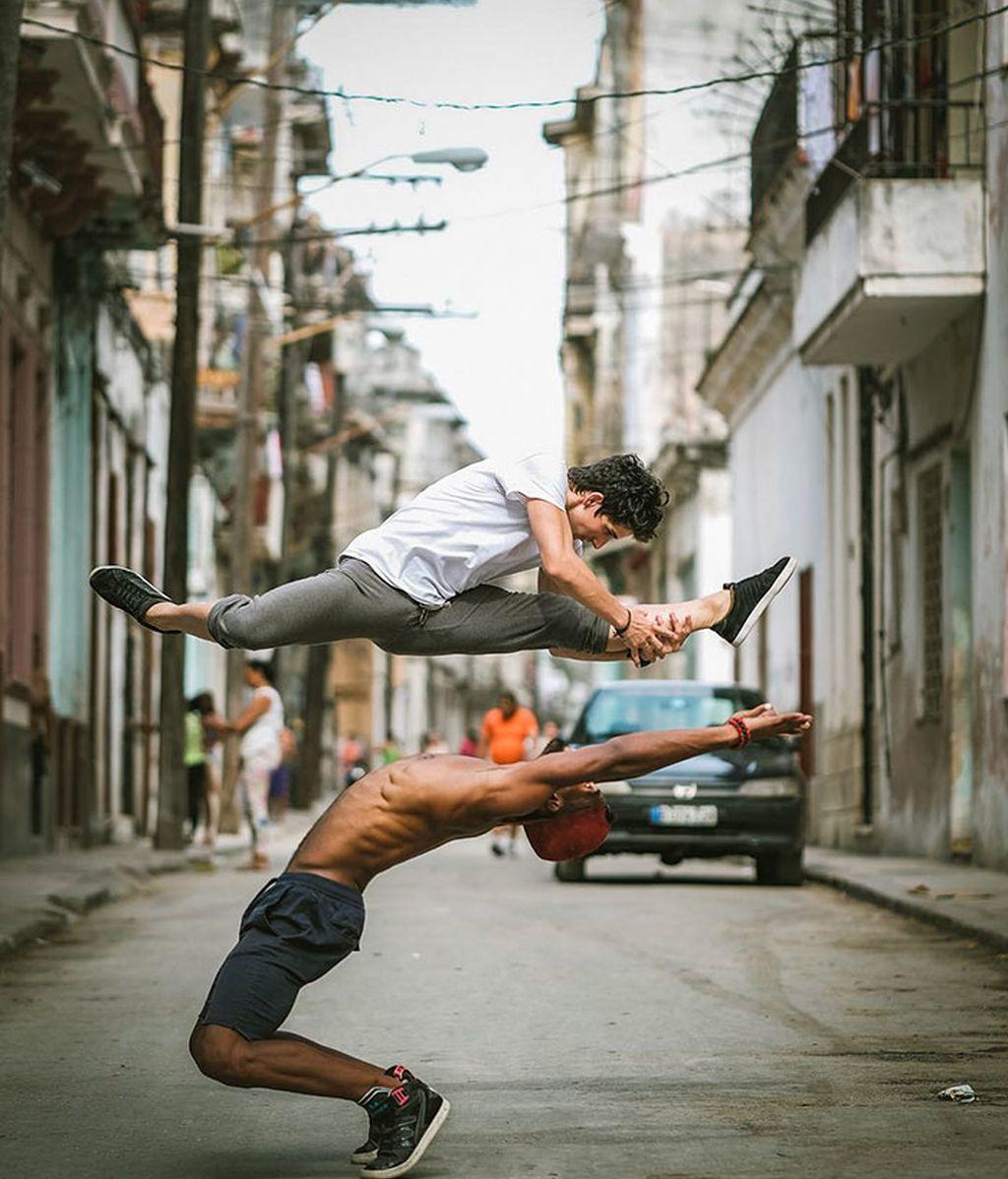 Consiguió ir a La Habana con una beca