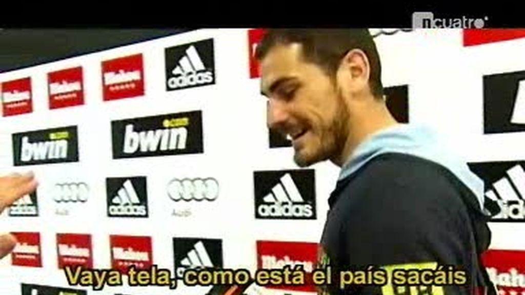 ¿Se afeitará Iker Casillas como le piden los internautas de Cuatro?