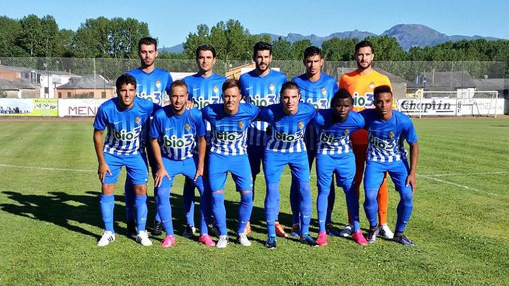 Equipación del Ponferradina en la temporada 2016/2017