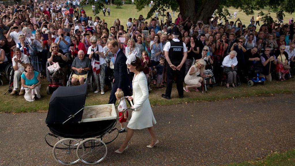 El bautizo de la princesa Charlotte