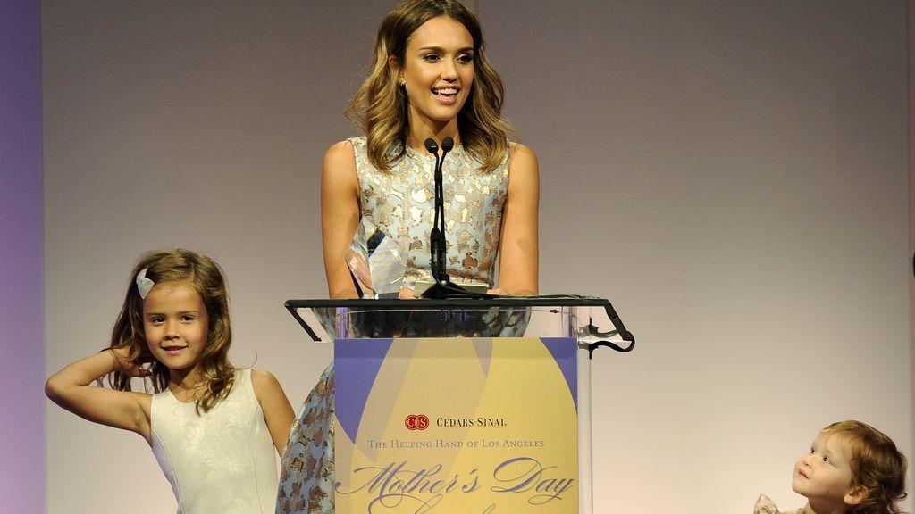 Jessica Alba, la mejor mamá del año