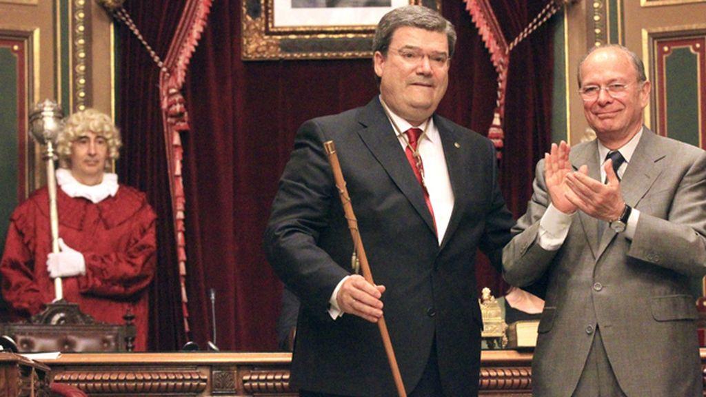 Juan María Aburto, del PNV, nuevo alcalde de Bilbao