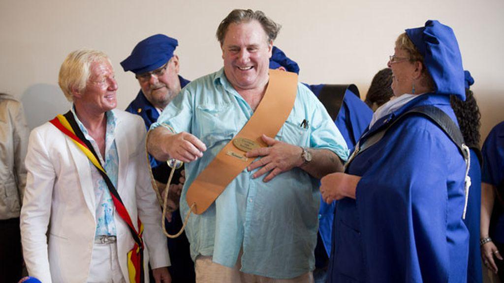 Gérard Depardieu, ciudadano de honor