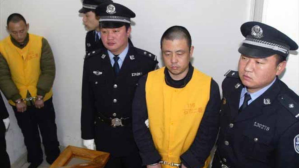 Condenados por la lecha adulterada en China