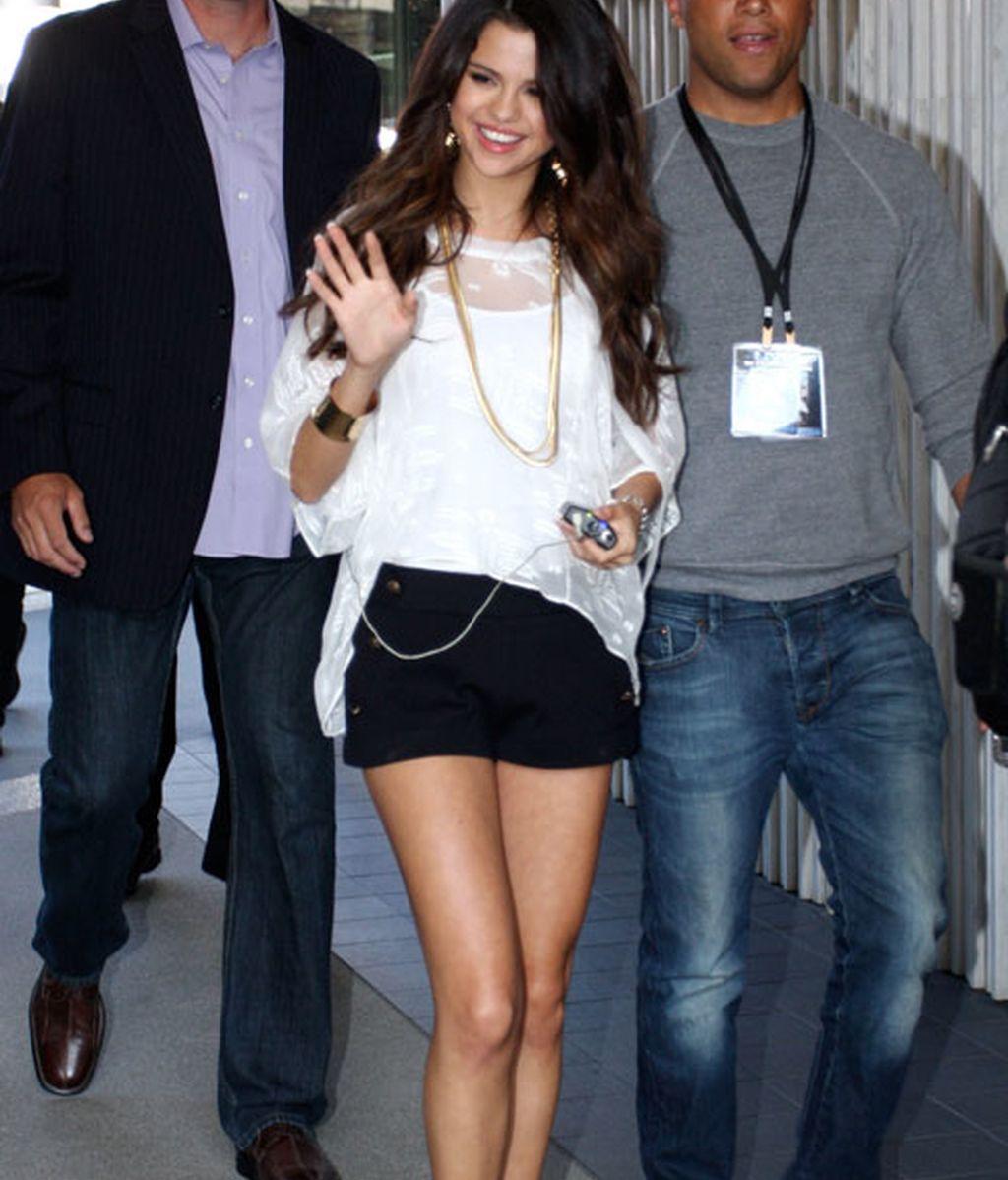 Selena Gómez se recupera de su anemia con un baño de fans
