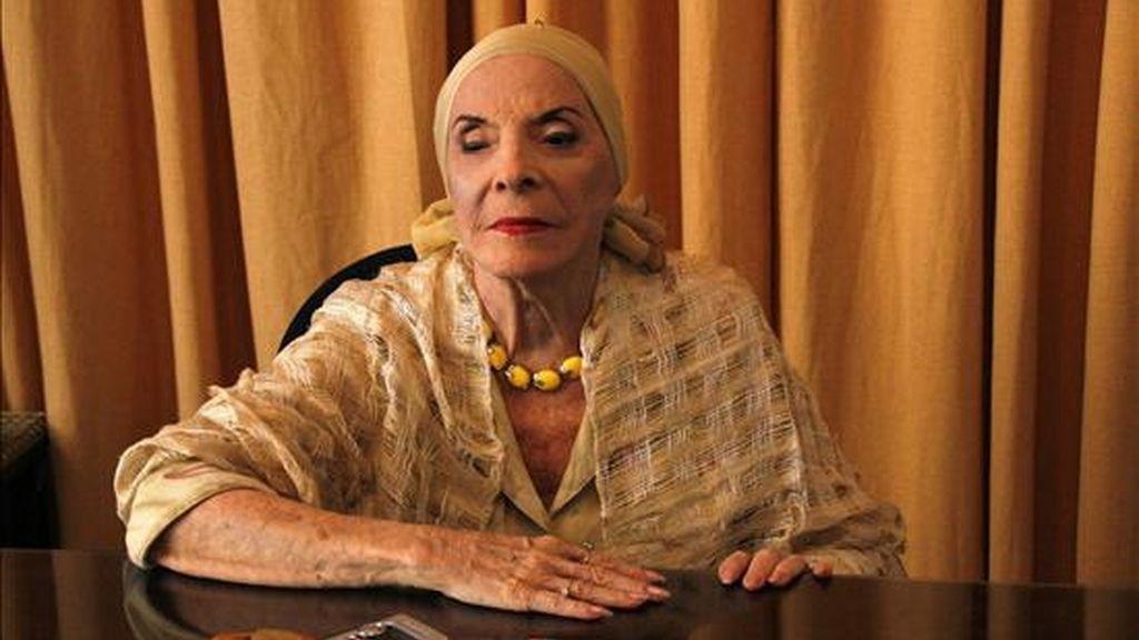 La obra homónima creada por Alonso será estrenada durante el XXI Festival La Huella de España, que se celebrará en La Habana, del 31 de mayo al 7 de junio próximos. EFE/Archivo