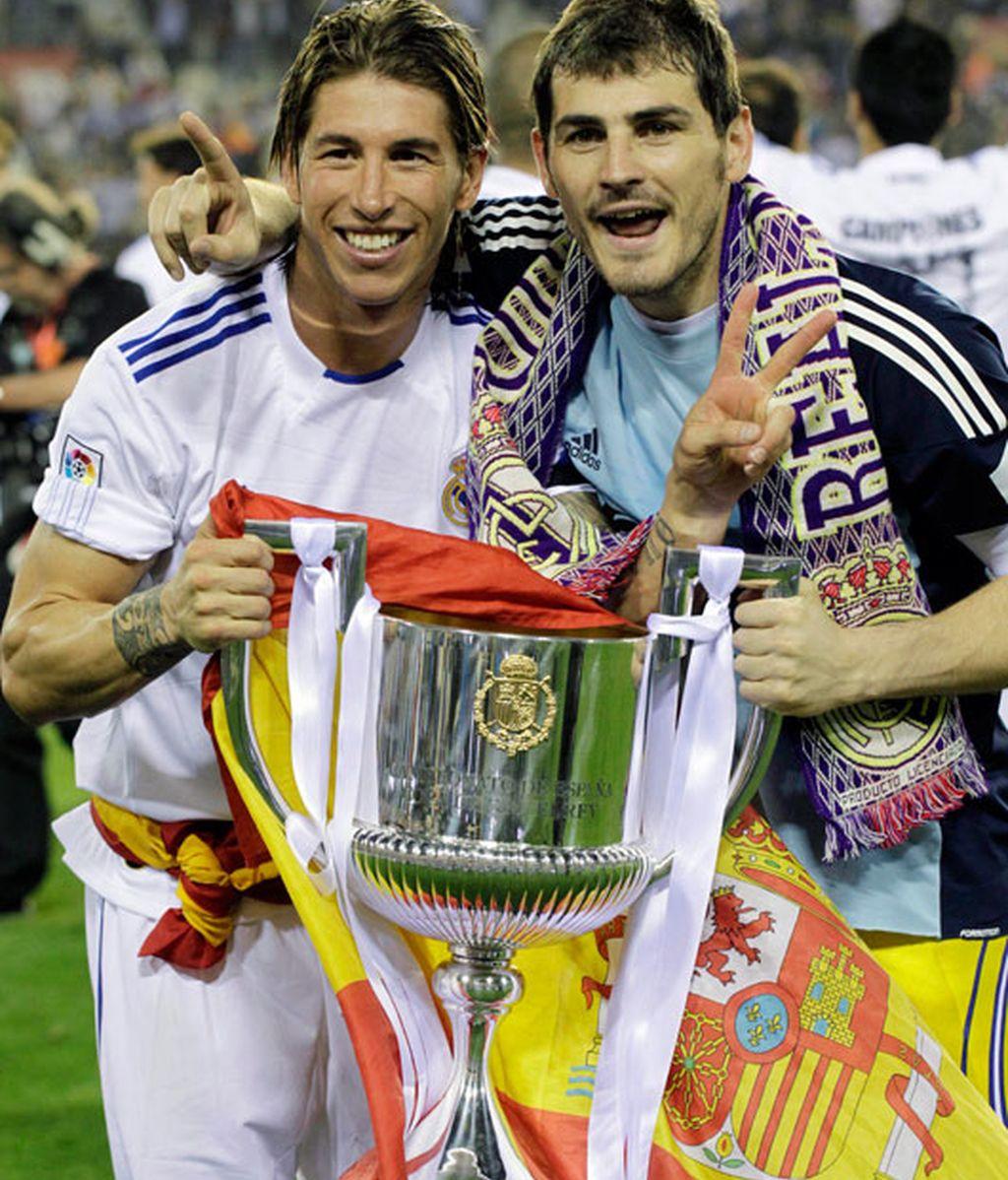 2011: Su último logro, campeón de la Copa del Rey con el Real Madrid
