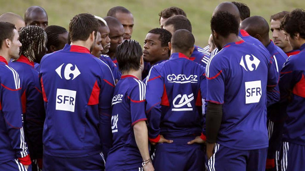 Francia se niega a entrenarse