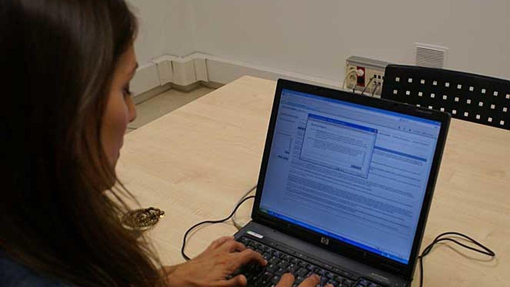 La presentadora en cuatro.com