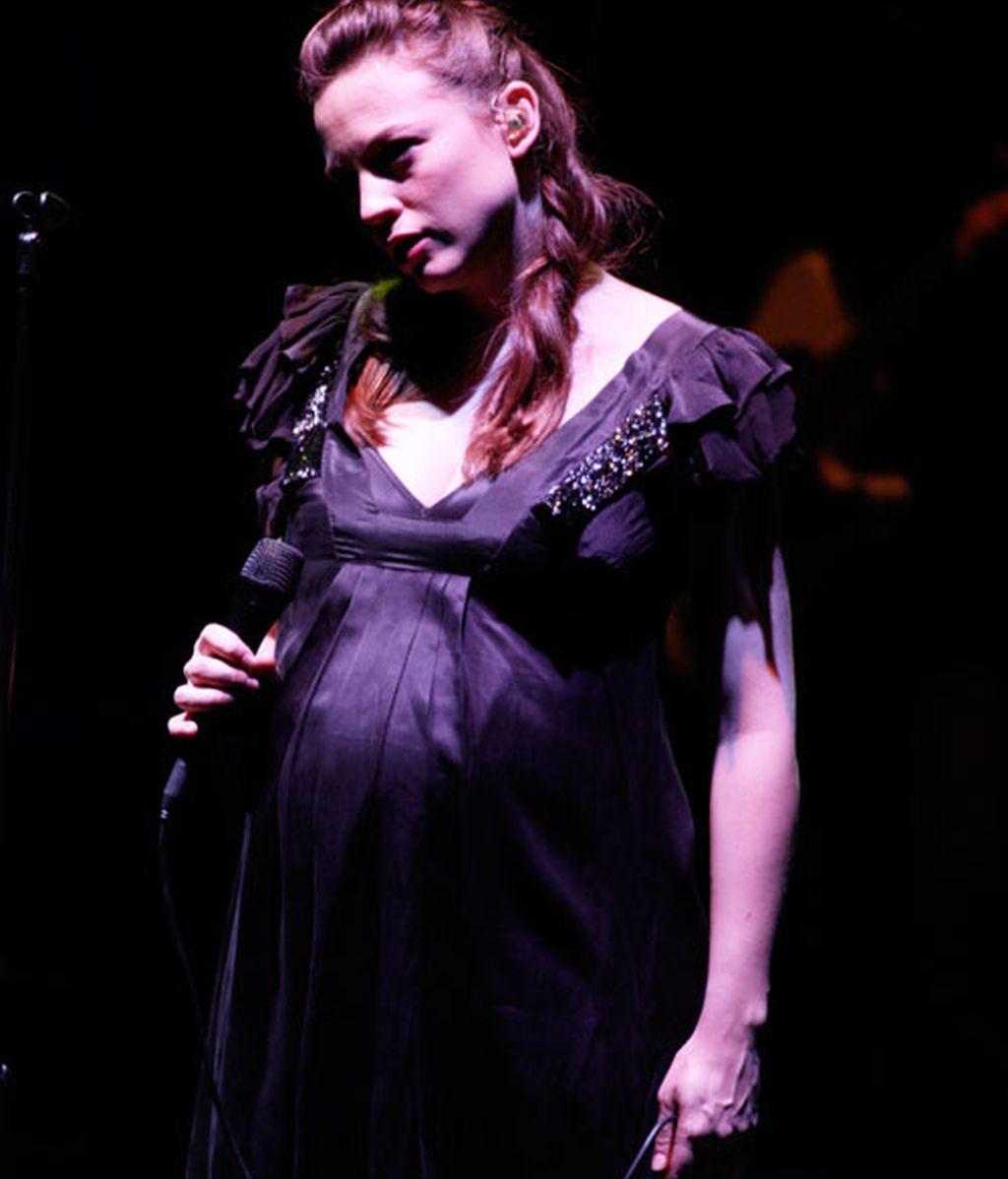 Embarazadas sobre el escenario