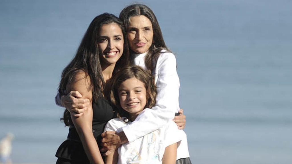 Inma Cuesta, Ángela Molina y Sofía Oria