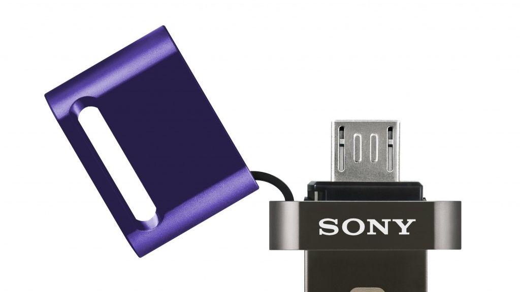 Sony, memorias USB, doble funcionalidad