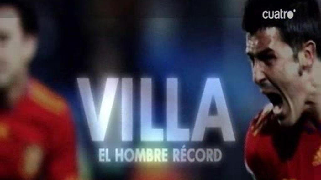 Villa pulveriza los records