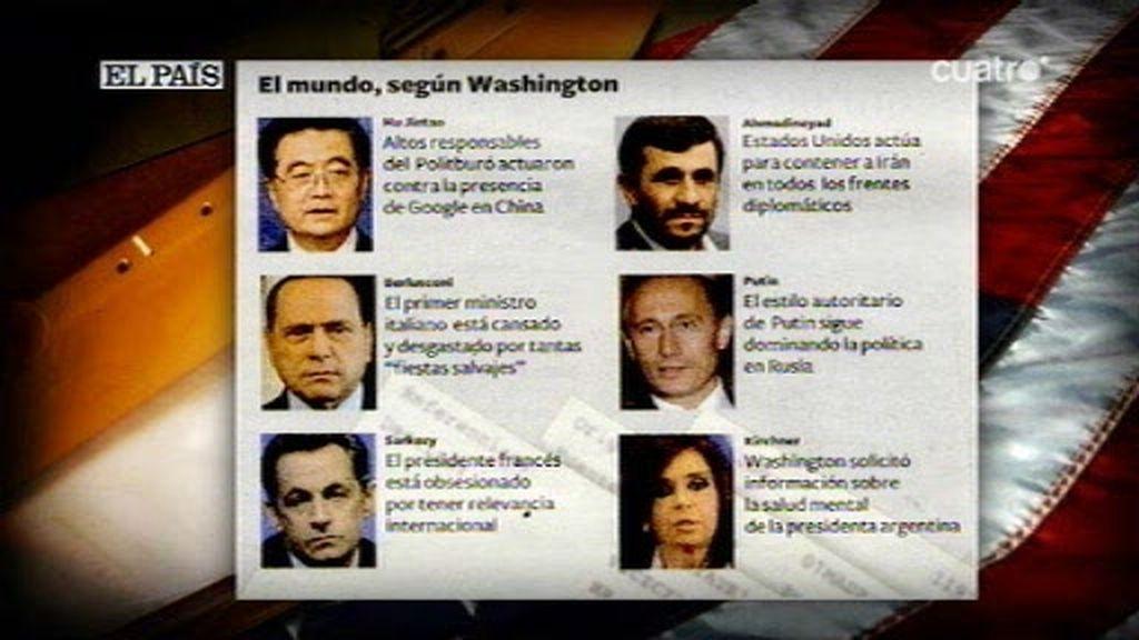 Los secretos de la diplomacia de EE.UU. al descubierto