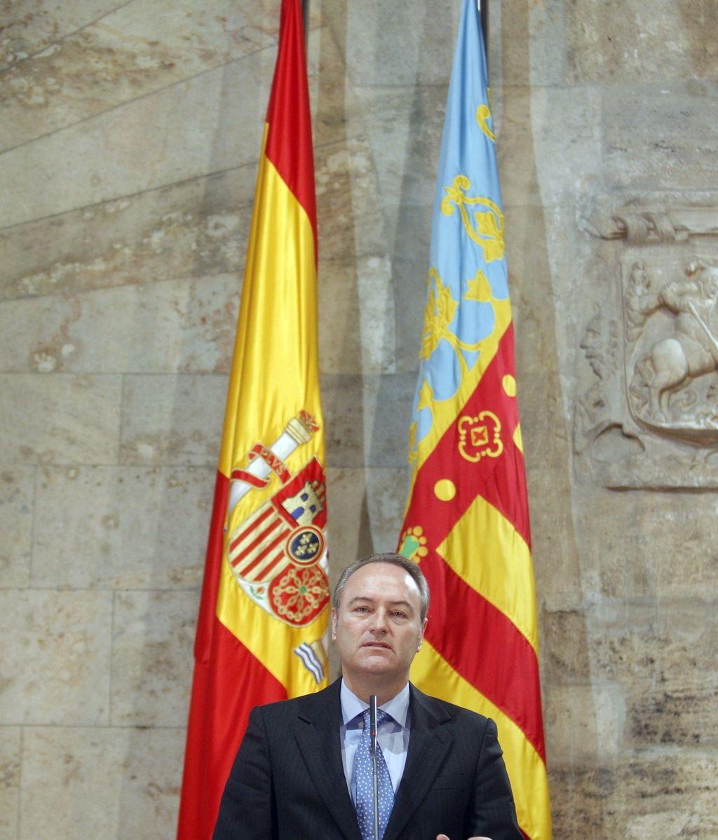 El president de la Generalitat, Alberto Fabra