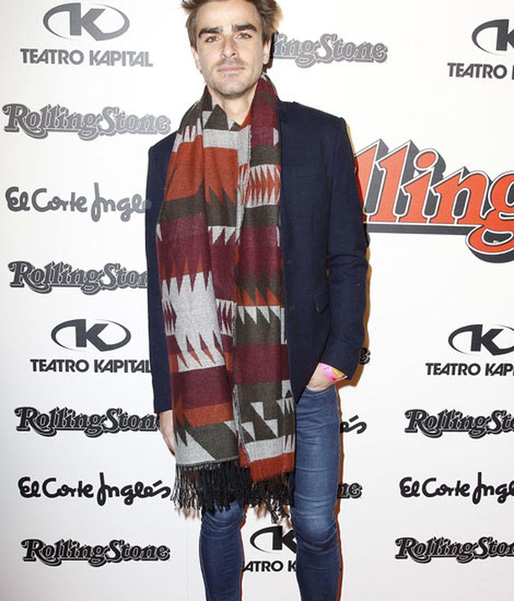 El cantante Jaime Terrón, de 'Melocos'