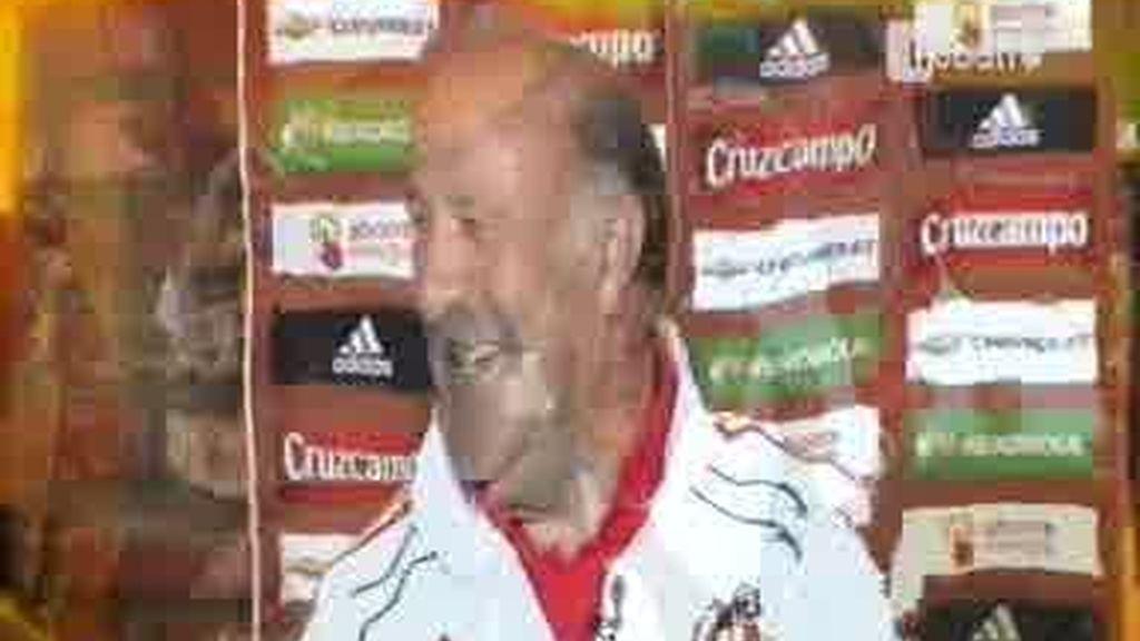"""Del Bosque: """"No nos podemos creer más de lo que somos"""""""
