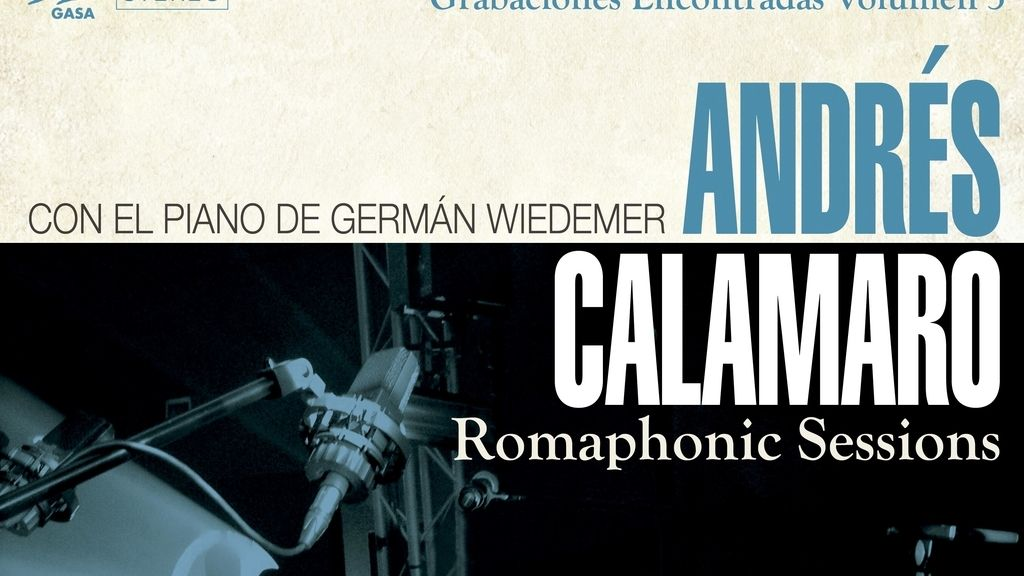 'The Romaphonic Sessions' es el nuevo álbum que presenta Andrés Calamaro