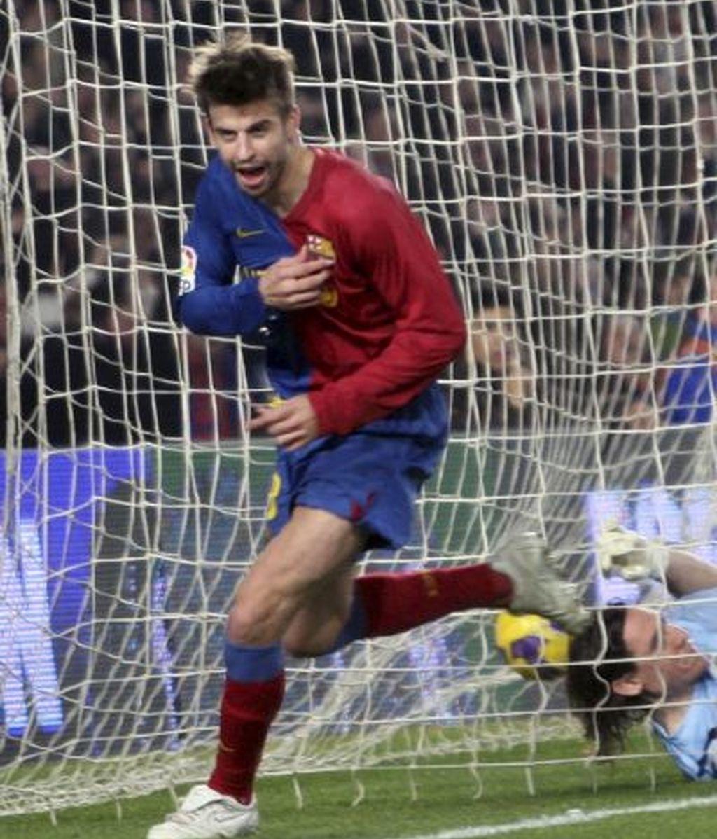 Barça-Espanyol, en imágenes