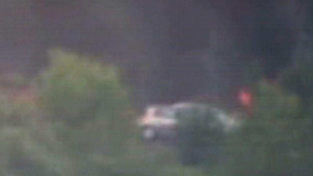 Imágen de la explosión