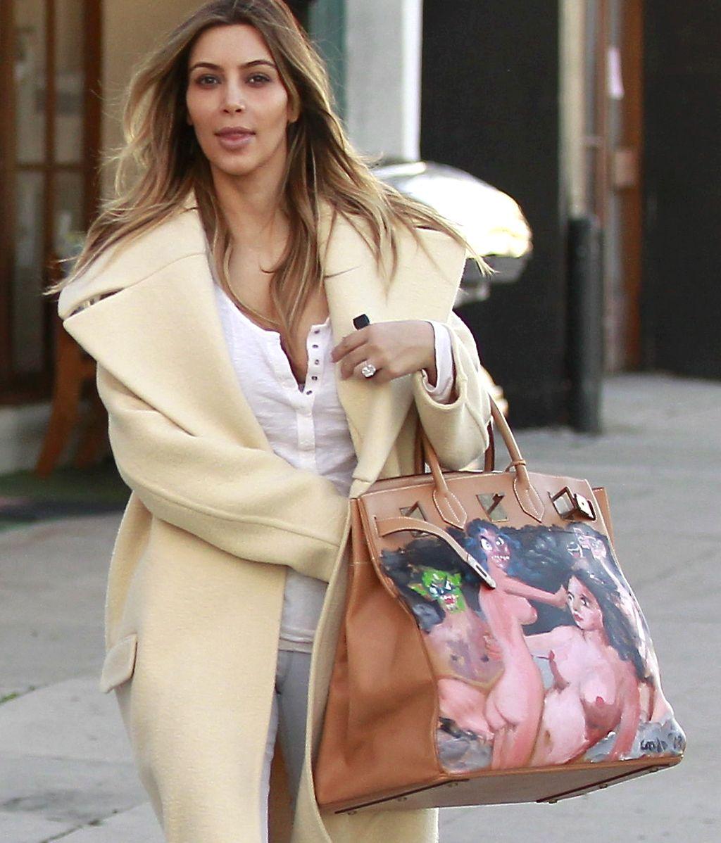 Kim Kardashian, al natural de compras