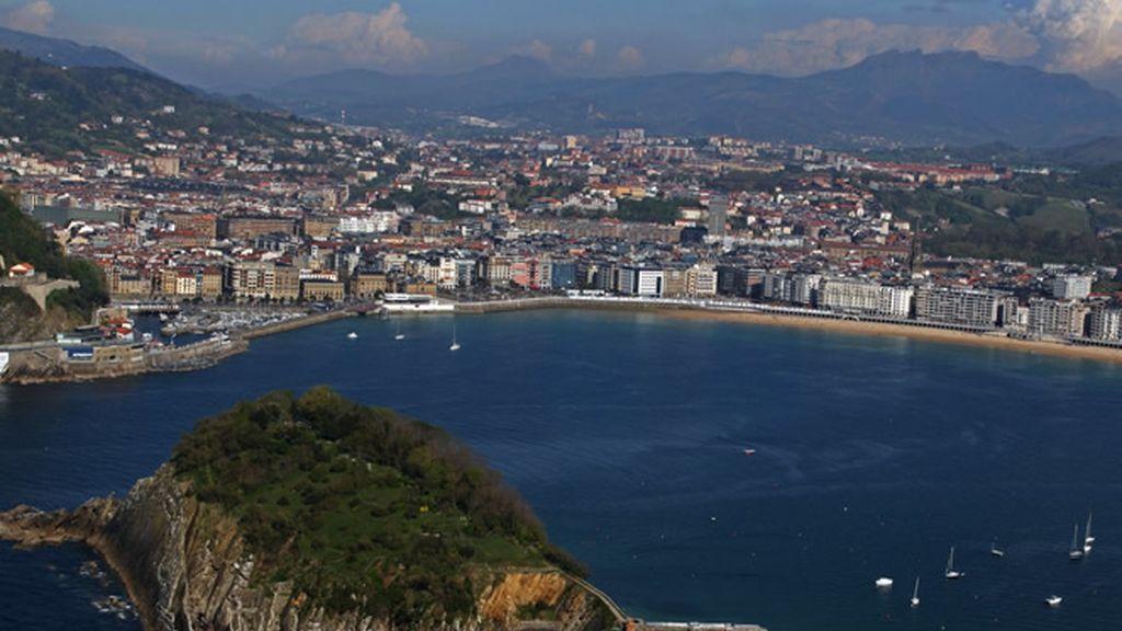 En San Sebastián está la vista favorita de Lorena Bernal