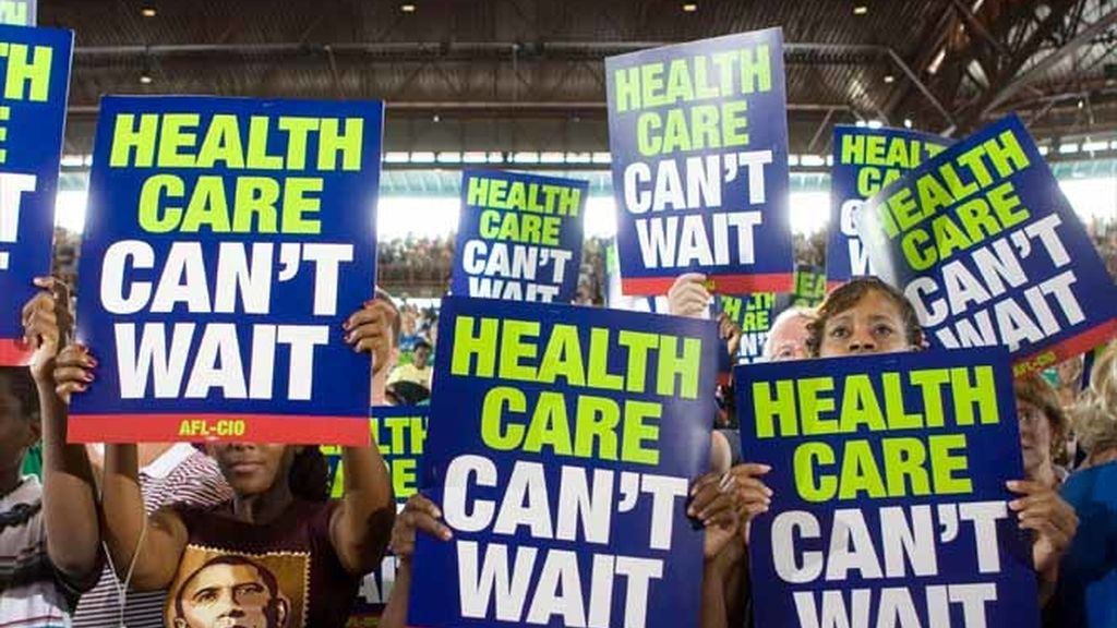 Los sindicalistas apoyan a Obama