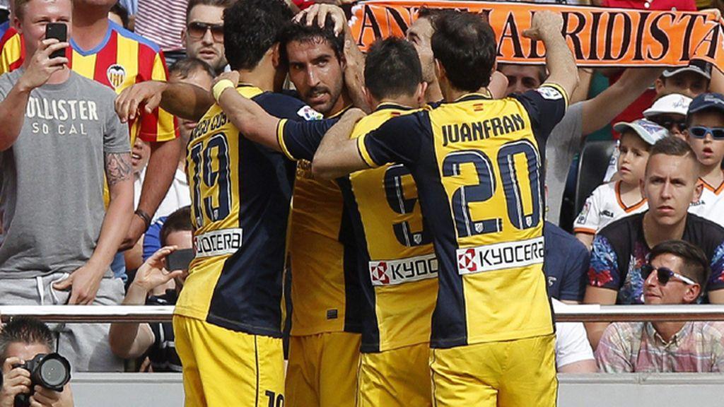 Valencia 0 - 1 Atlético de Madrid