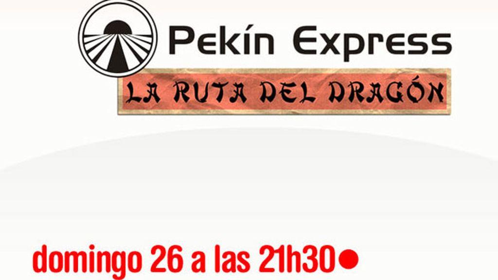Comenta en el chat el estreno de Pekín Express: la Ruta del Dragón