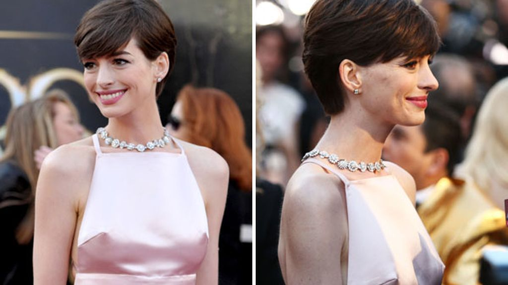 Los pezones de Anne Hathaway, protagonistas en Twitter