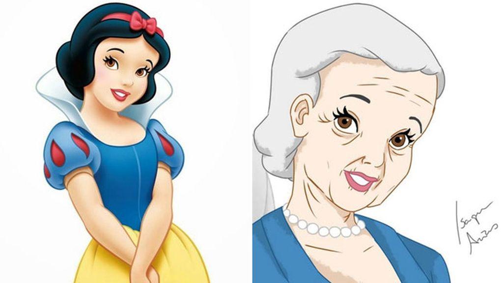Blancanieves (1937), a sus 92 años, es la mayor. ¡La conocimos con 14!