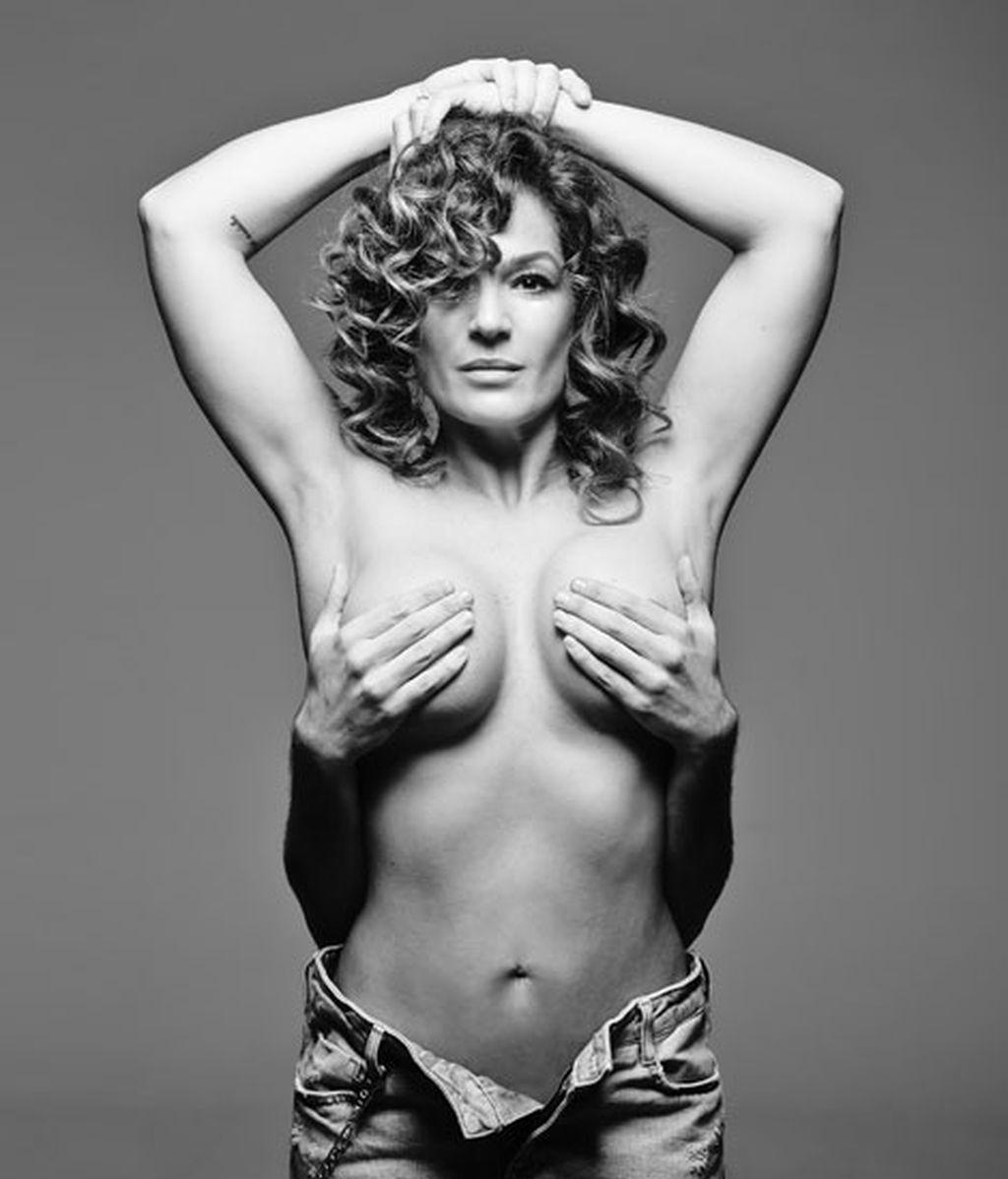 Raquel Bollo, como Janet Jackson en 'Rolling Stone'
