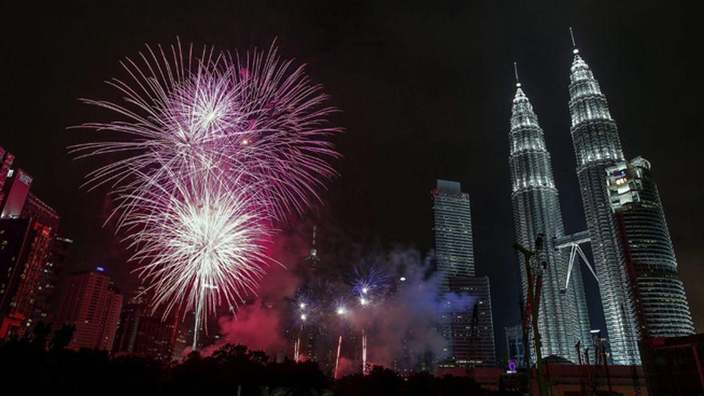 Celebraciones por el año nuevo en Kuala Lumpur