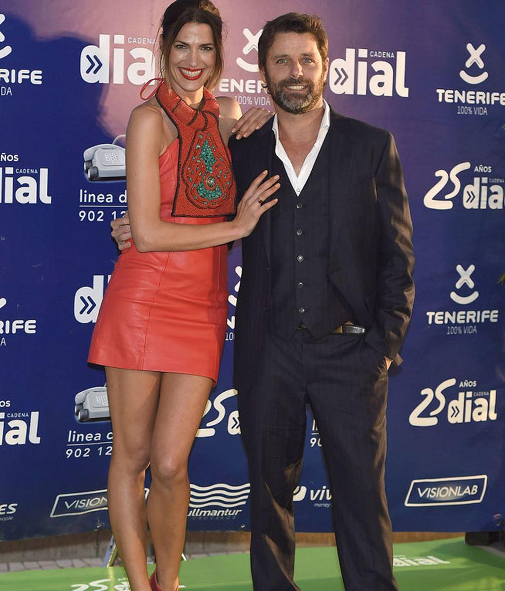 Muy sonrientes, Laura Sánchez y David Ascanio