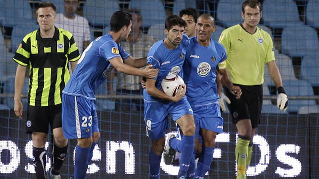 EL Getafe cae eliminado tras la victoria del Young Boys