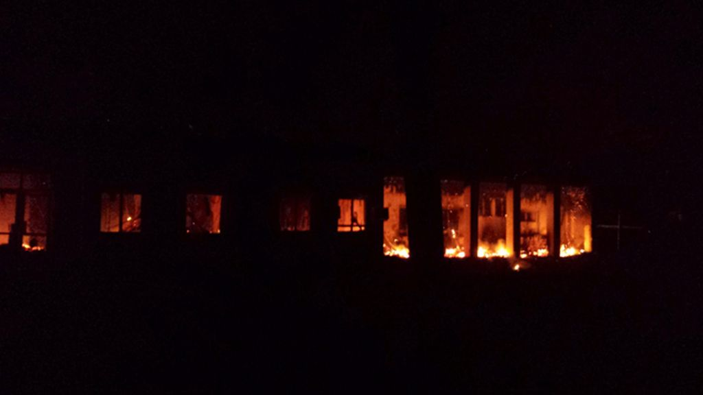 """EEUU reconoce un ataque aéreo """"en las inmediaciones"""" del hospital de MSF"""