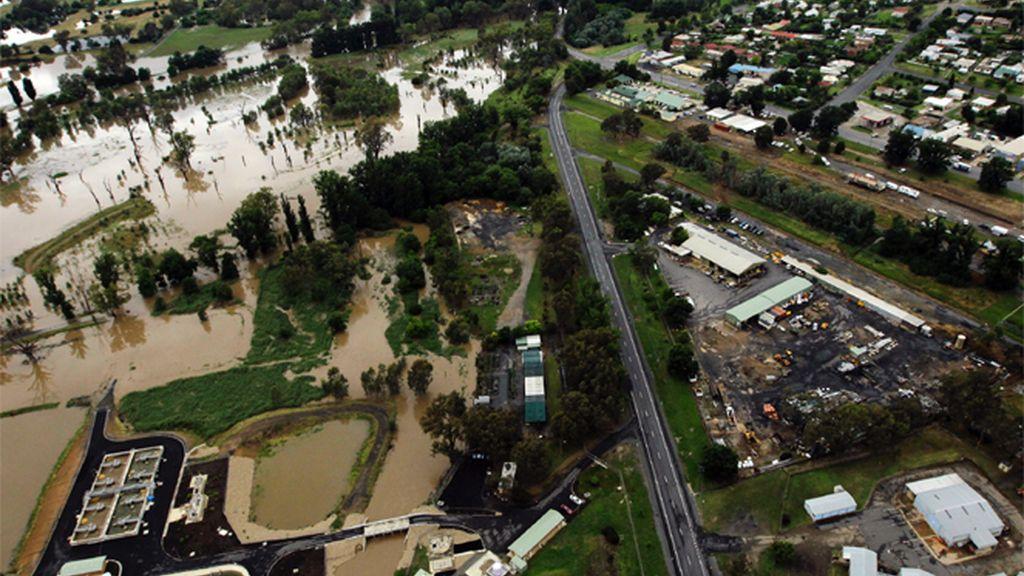 Australia sufre las peores inundaciones en 50 años