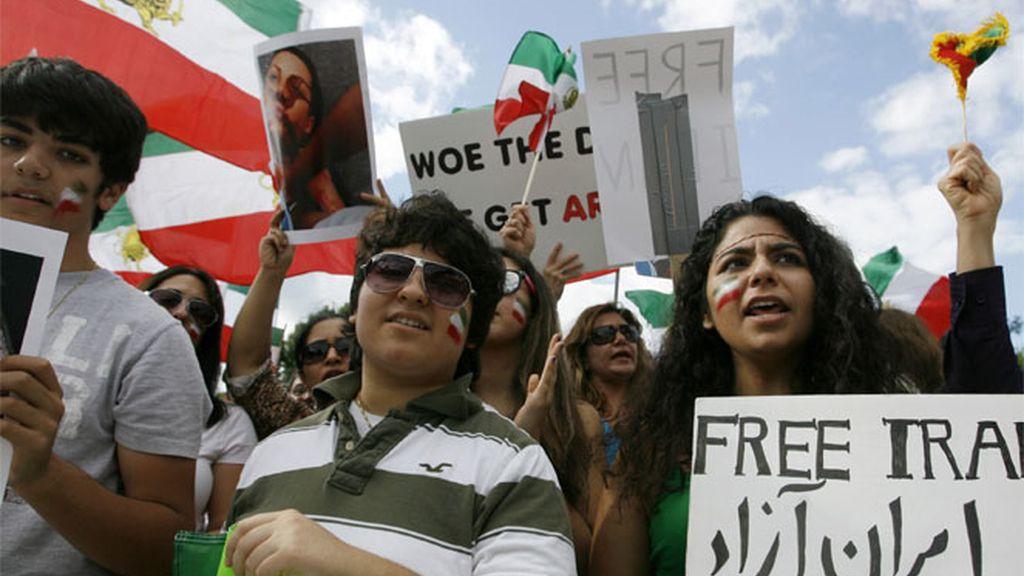 Iran manifestación