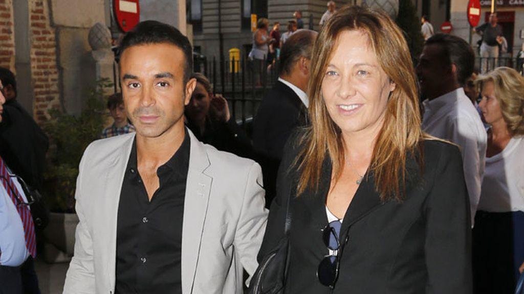 Luis Rollán y Belén Rodríguez llegaron juntos