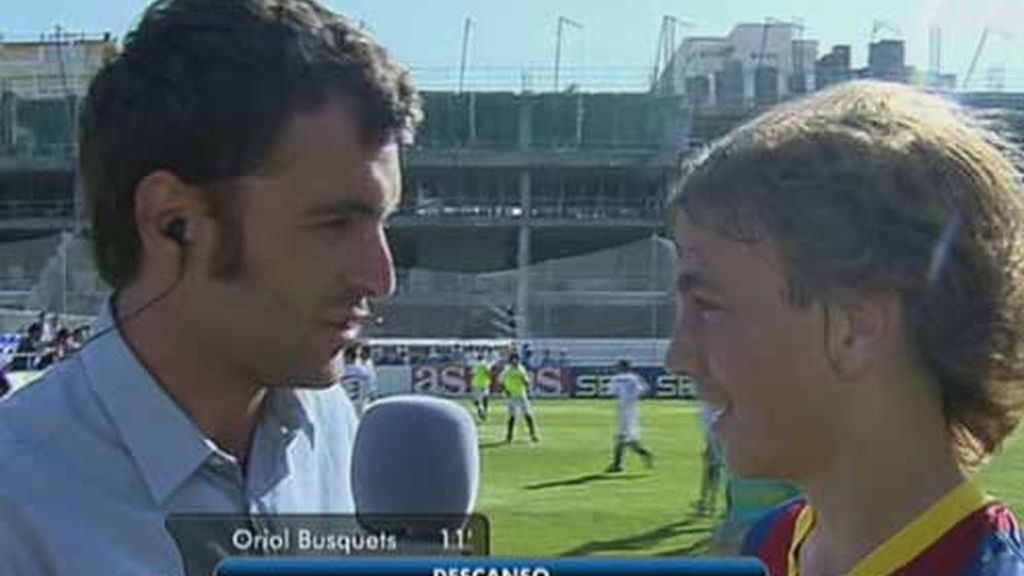 Ricardo entrevista al capitán Oriol