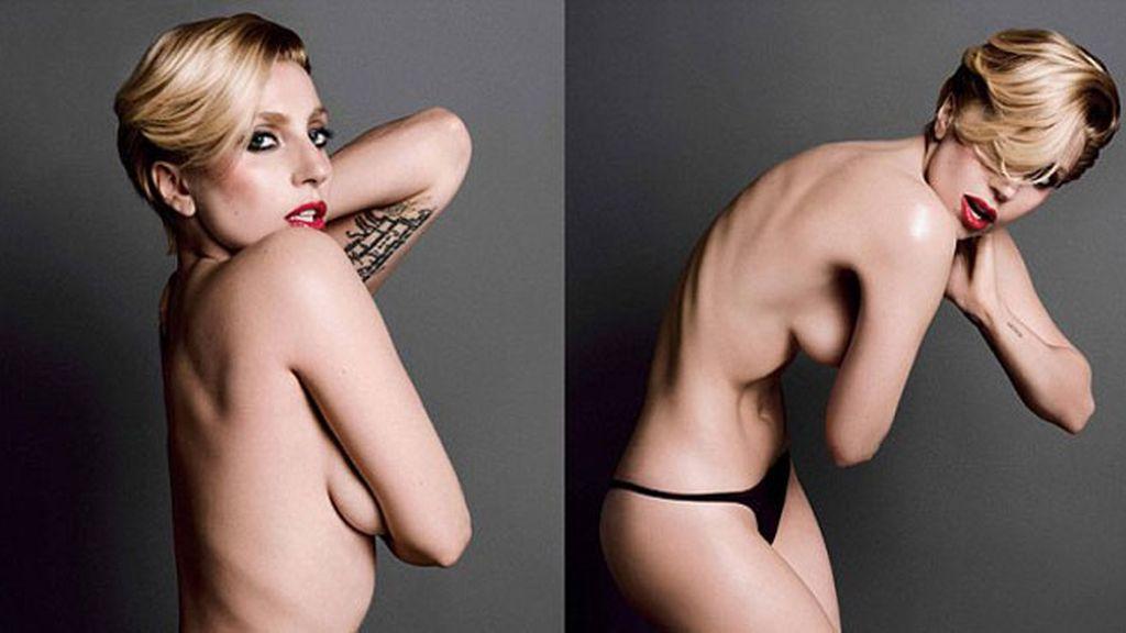 Lady Gaga sin reservas para 'V Magazine'