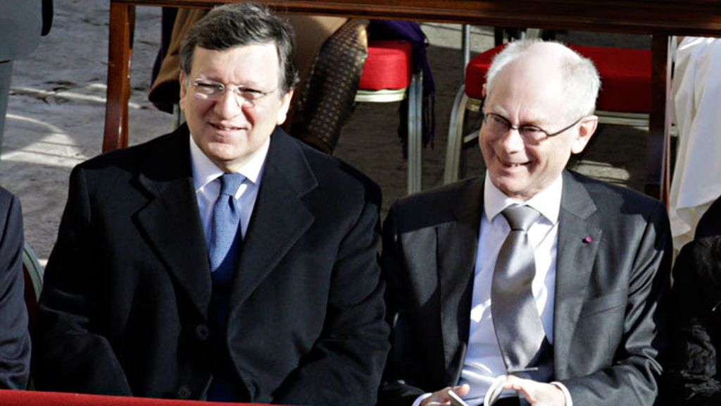 José Manuel Durão Barroso y Herman Van Rompuy
