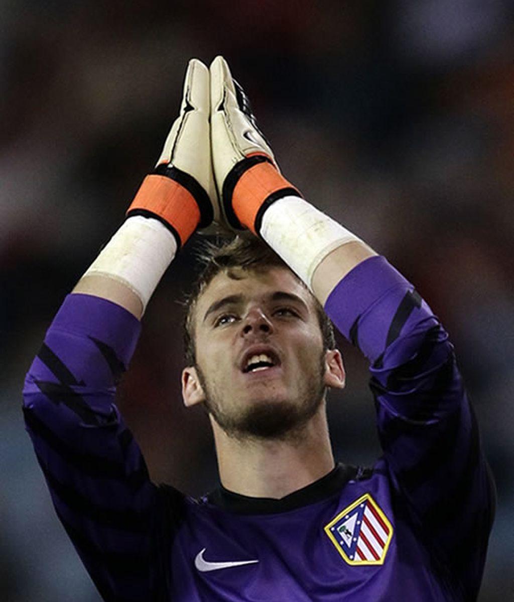 El Atlético espera el milagro en Leverkusen