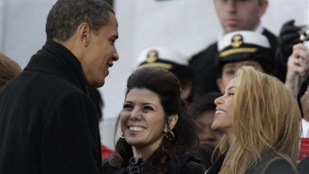 Shakira, junto a Obama