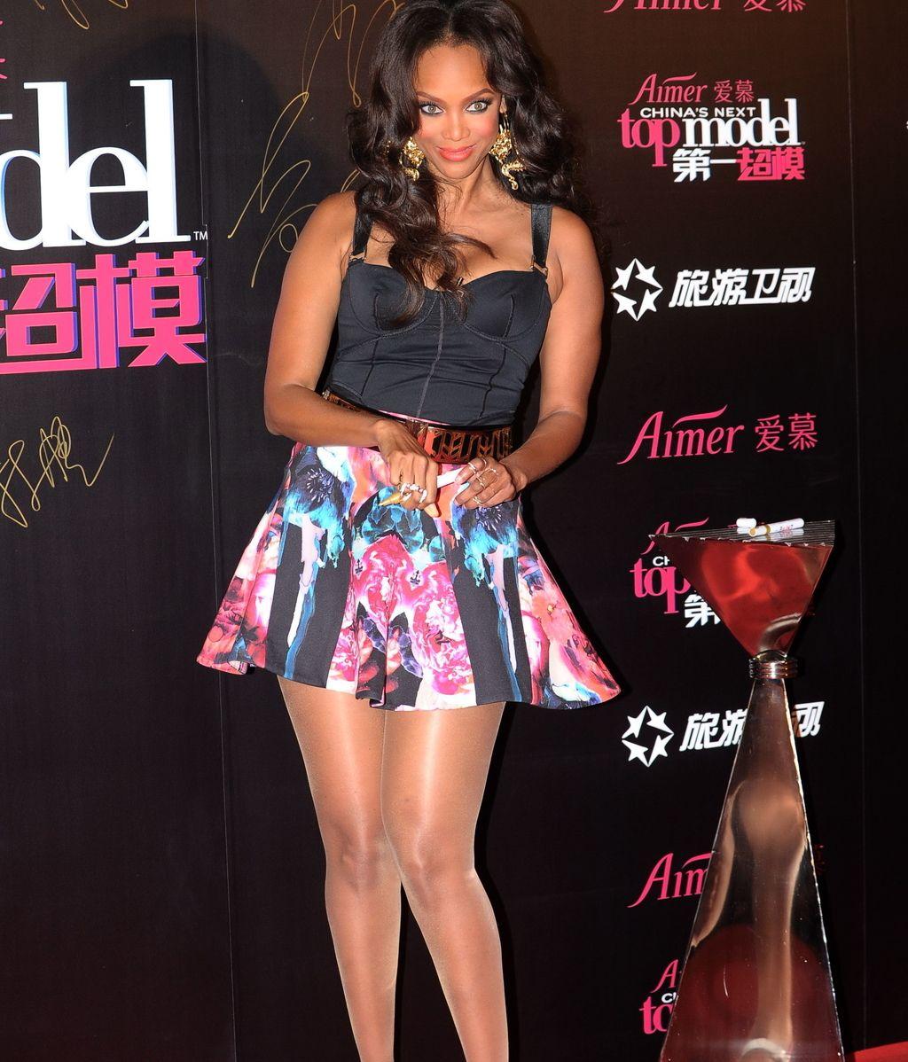 """Tyra Banks: """"No me gusta la etiqueta 'talla grande', yo lo llamo 'ferozmente real'"""